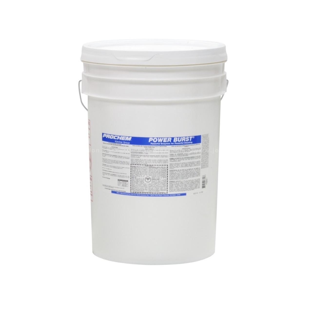Prochem Power Burst 48# Pail - High PH Enzyme Pre-Spray
