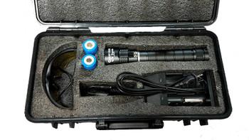 Clean Gear UV Torch Urine Inspection Detection Flashlight Kit w/ Case