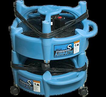 Dri-Eaz Studebaker Air Path Airpath Floor Dryer Fan Air Mover