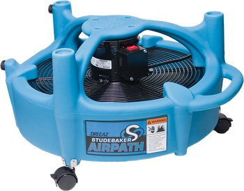 Dri-Eaz Studebaker Air Path Airpath Floor Dryer Fan Air Mover