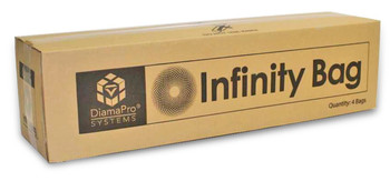 DiamPro Infinity Bags Case of 4 with ties