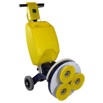 "Cimex CR38SC 15"" Hard Floor Scrubber with Soft Poly Brushes"