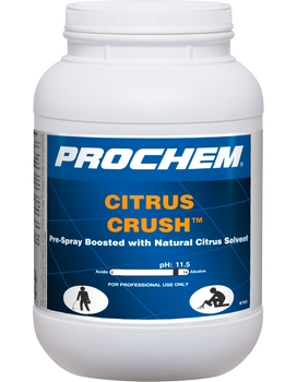Prochem Citrus Crush - Carpet Pre-Spray Boosted w/ Citrus 11.5 pH - 6.5 lb Jar
