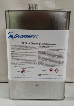 ShoreBest 2710 Concrete Surface Chewing Gum Remover - Gallon