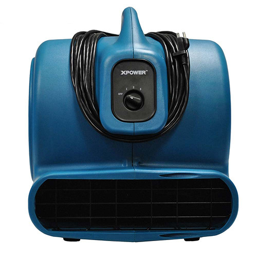 XPOWER P-830 1 HP 3600 CFM Air Mover