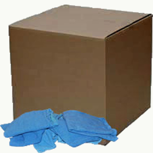 25 Lb. Box of Reclaimed Huck Cotton Towels (approx. 175 Towels)