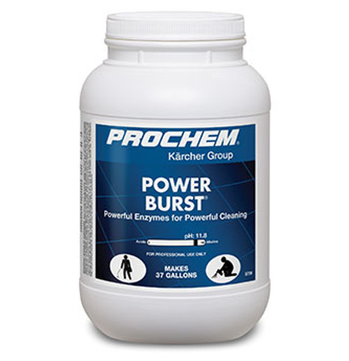 Prochem Power Burst 48# Pail - High PH Enzyme Pre-Spray