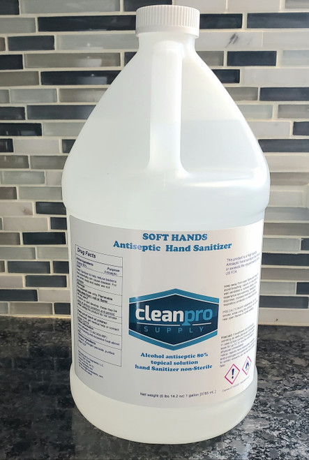 In Stock - Gallon Gel Hand Sanitizer 80% Alcohol