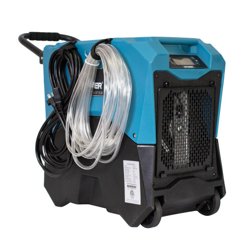 XPOWER XD-85LH Commercial LGR Dehumidifier, 85 Pints Per Day AHAM (80° F / 60% Relative Humidity), 6.7 Amps