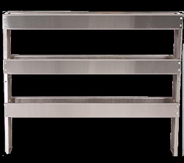Stainless Steel Three Tier Chemical Shelf Rack
