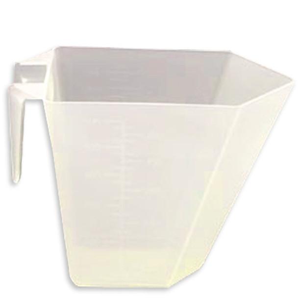 16 oz / 2 cup - Rectangular Natural PP Scoop