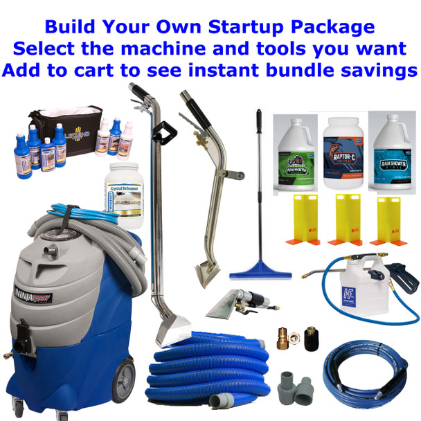 Build Your Own Prochem Ninja Portable Carpet Extractor Startup Bundle Package. (Add to cart to see instant savings)
