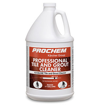 Prochem Professional Alkaline Tile And Grout Cleaner Ph