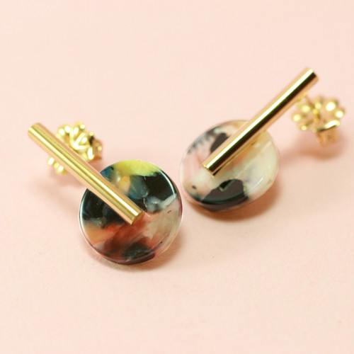 Bloomin | Small Disc Earrings