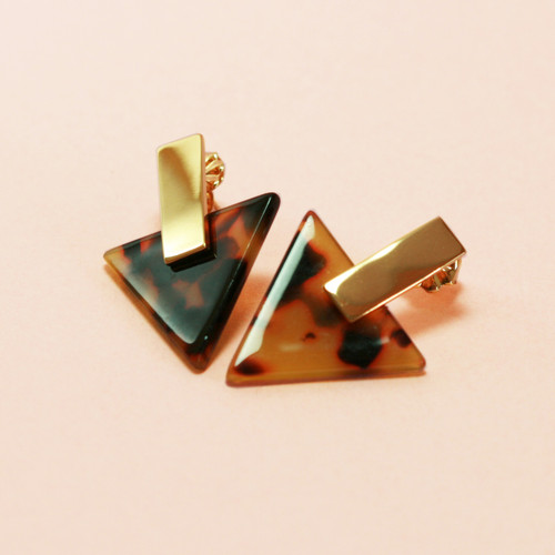 Tortuga | Small Triangle Earrings