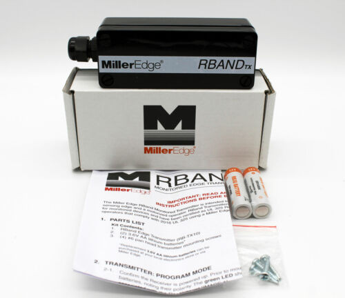 Miller Edge RB-TX10C RBand Monitored Wireless Gate Transmitter (916 MHZ)