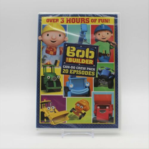 Bob The Builder Can-Do-Crew Pack 20 Episodes DVD Over 3 Hours of Fun!