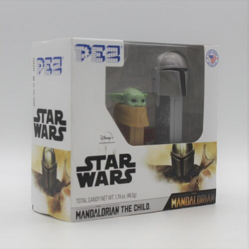 Disney PEZ Star Wars The Mandalorian Baby Yoda Twin Pack