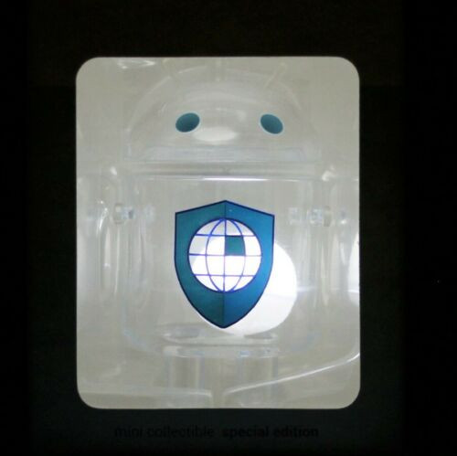 Android Mini Collectible Special Edition Shed Light on SECURITY & PRIVACY. NEW!