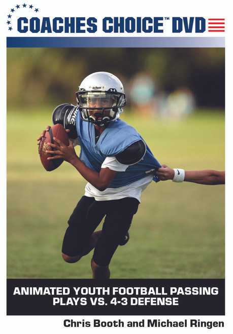 Animated Youth Football Passing Plays Vs 4 3 Defense One Of Many
