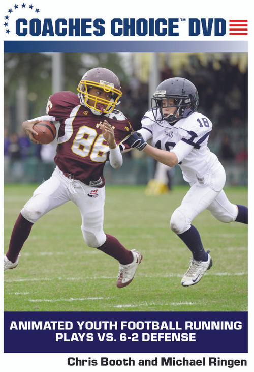 Animated Youth Football Running Plays Vs 6 2 Defense One Of Many
