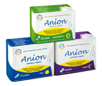 Health Gate AnIon Sanitary Overnight Napkin 8pk