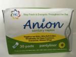 Health Gate AnIon Sanitary Napkin Pantiliner Napkin 30pk