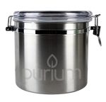 Purium Kitchen Canister - Stainless Steel