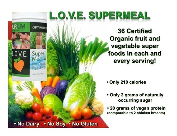 Purium L.O.V.E Super Meal Original Flavor - Less than on Amazon