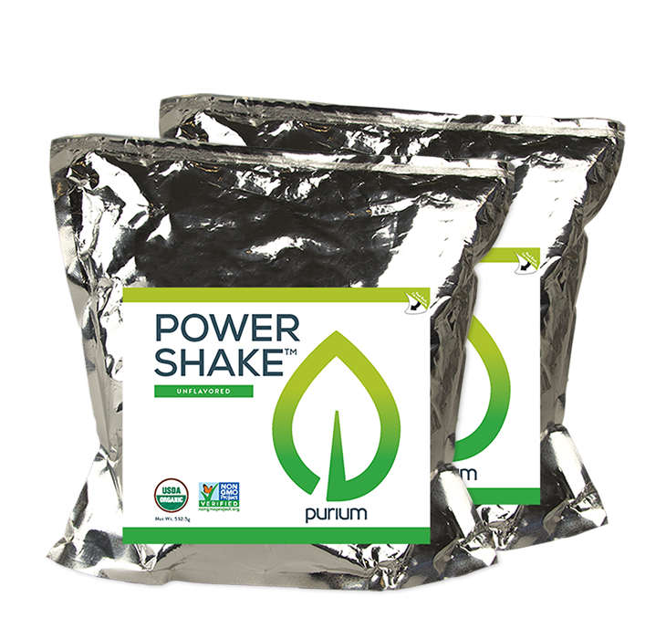 Purium Power Shake - Original Flavor  2 Terra Pouch-30 servings