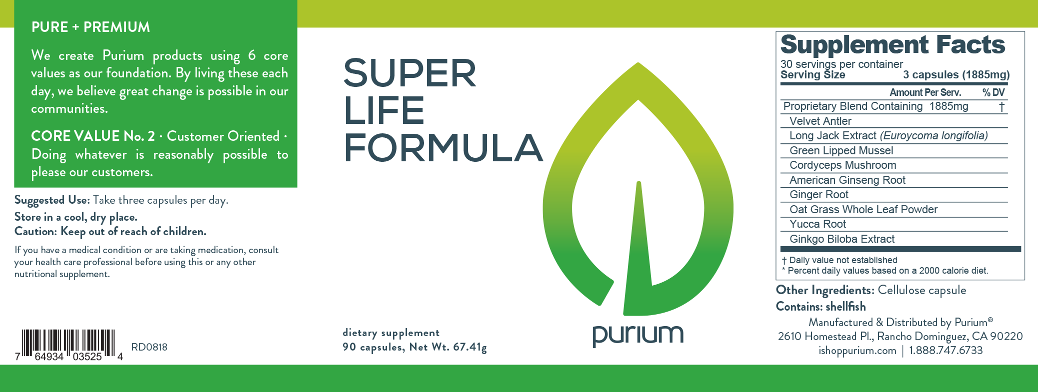 Purium 10-Day Athlete's Transformation Cleanse
