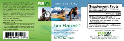 Purium Ionic Elements