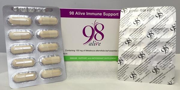 98 Alive sample of 10 capsules