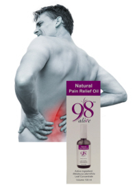 98 Alive Pain Relief Oil
