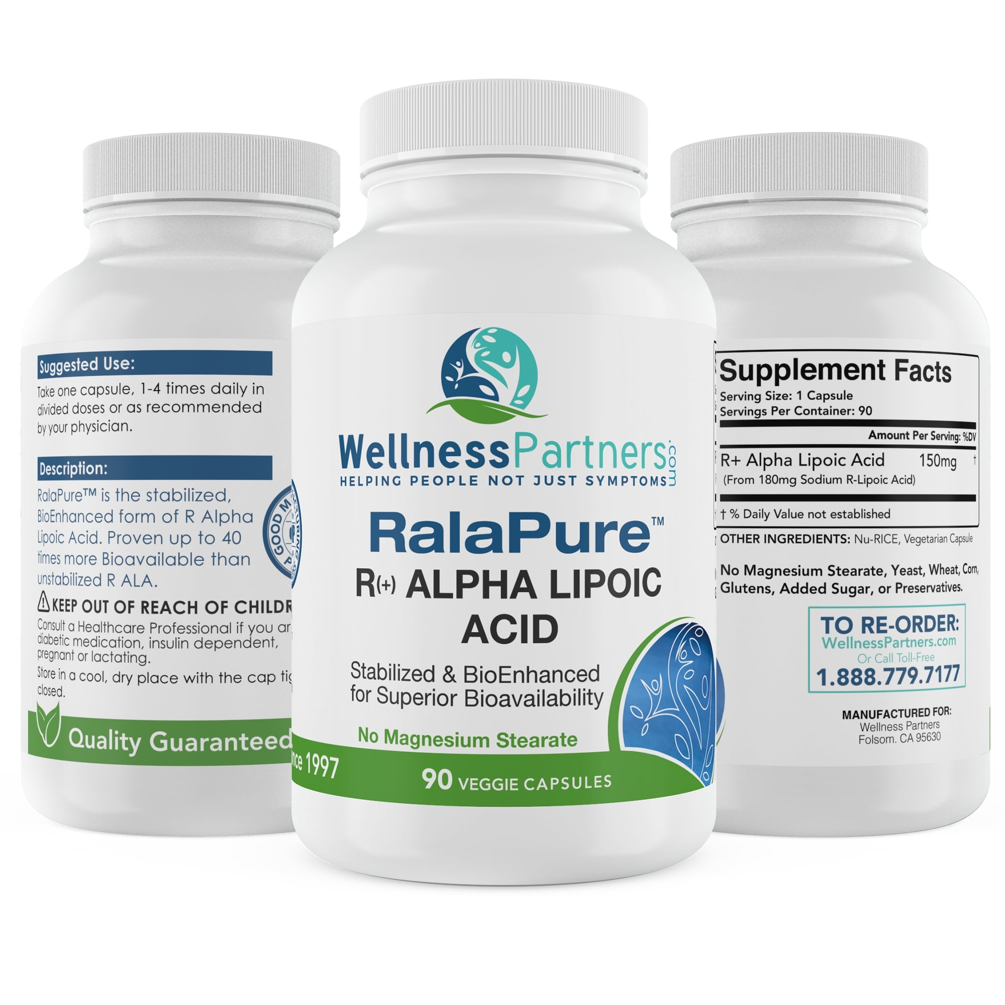 RalaPure Stabilized R-Alpha Lipoic Acid - ALA