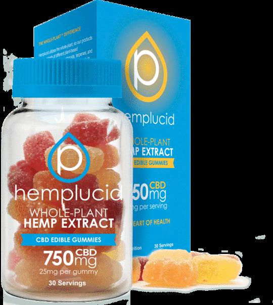 Hemplucid Full Spectrum Edible Gummies