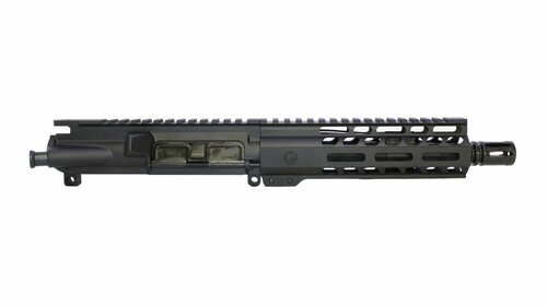 Black Anodized AR15 Pistol Upper Receiver chambered in .300 AAC by Ghost Firearms