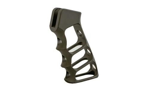 Magpul OD Green AR Platform Skeletonized Pistol Grip by Tactical Dynamics