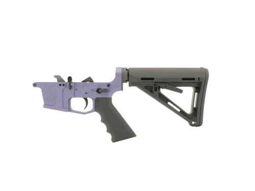 Tactical Grape 9mm Complete Rifle (Glock Style) Lower Receiver by Grid Defense