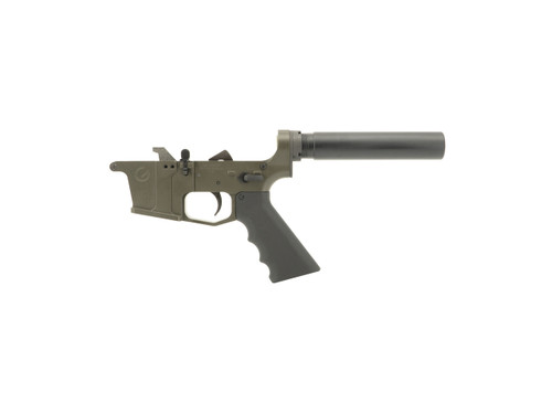 Magpul OD Green Complete 9mm (Glock Style) Pistol Lower Receiver by Grid Defense