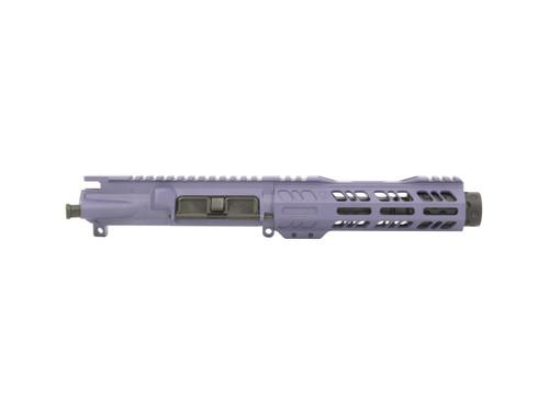 AR 9 Pistol Upper Receiver by Grid Defense in Purple Cerakote