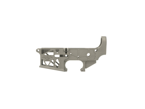 AR-15 Grid Defense Milspec Stripped Skeleton Lower Receiver - Made in the USA