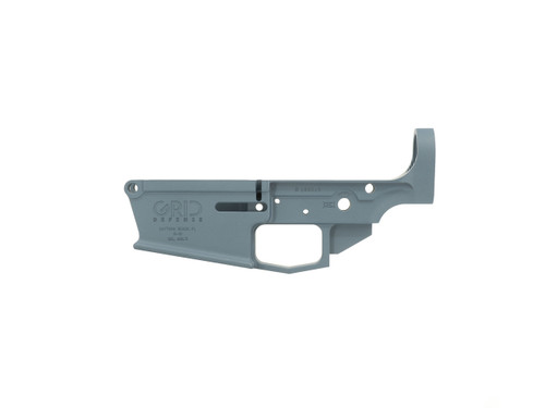DPMS Style Stripped AR-10 Lower Receiver by Grid Defense