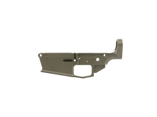 DPMS Style Stripped .308 Lower Receiver in OD Green Cerakote