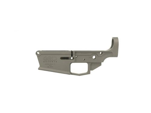 Tungsten Gray 308 Winchester Lower Receiver by Grid Defense