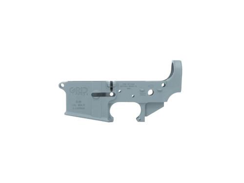 AR15 Stripped Lower Receiver in Blue Titanium Cerakote
