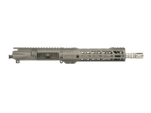 """Tungsten Gray 10.5"""" 5.56 Upper Receiver with 1:7 Twist Stainless Steel Barrel"""