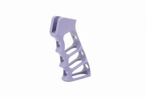 Tactical Dynamics Skeleton Grip Finished in Purple Cerakote