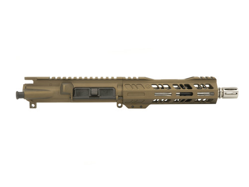 """Grid Defense 7.5"""" .300 Blackout Upper Receiver with Stainless Steel 1:8 Barrel"""