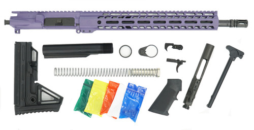 "Ghost Firearms 16"" 9mm Rifle Kit in Tactical Grape"